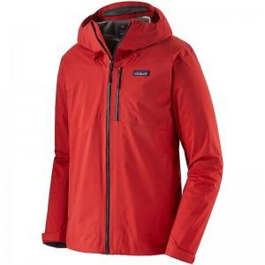 Patagonia Rainshadow Men's Waterproof Jacket - Fire