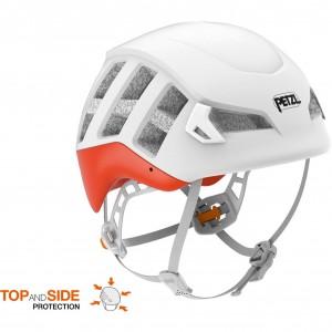 Petzl Meteor Climbing Helmet - Red/Orange