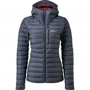 Rab Microlight Alpine Down Jacket - Women's - Steel
