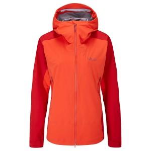 Rab Kinetic Alpine 2.0 Waterproof Jacket - Women's  - Red Grapefruit