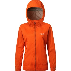 Rab Kinetic Alpine Waterproof/Softshell Jacket - Firecracker