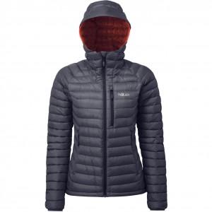 Rab Microlight Alpine Women's Down Jacket - Steel/Passata