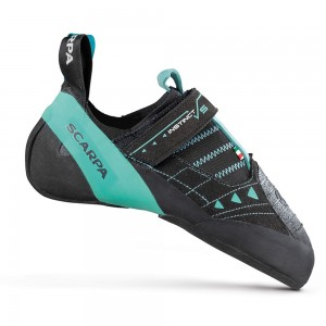 Scarpa Instinct VS Women's Climbing Shoe - Black/Aqua