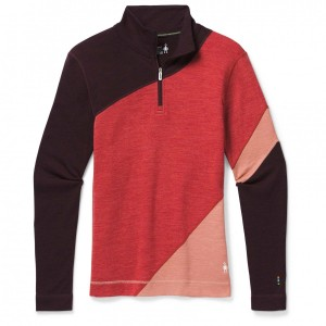 Smartwool Merino 250 Baselayer Colourblock 1/4 Zip - Women's