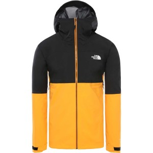 The North Face Impendor FutureLight Jacket - Men's - TNF Black/Flame Orange