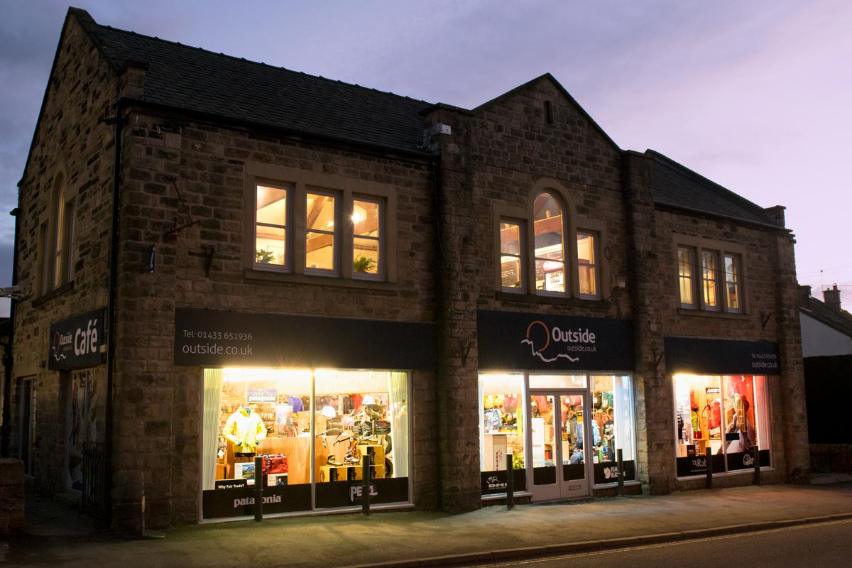 Outside Hathersage Shop