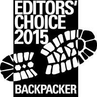 Backpacker Magazine Editor's Choice 2015