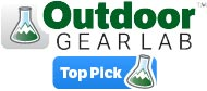 Outdoor Gear Lab Top Pick Award