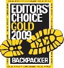 Backpacker magazine - Editor's Choice Gold 2009