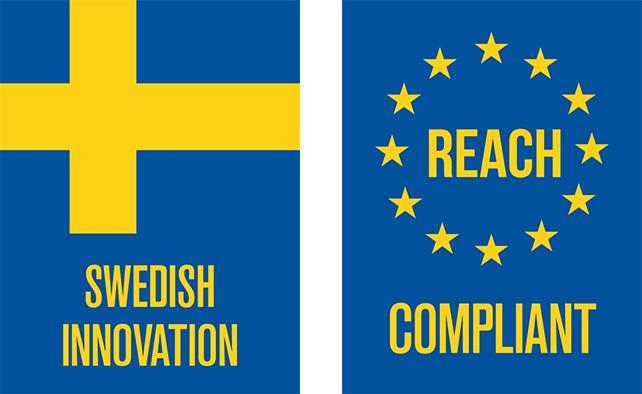Swedish Innovation/REACH Compliant