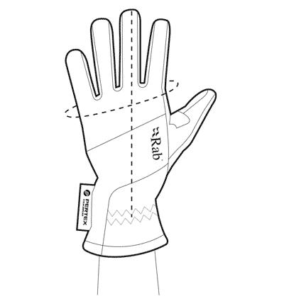 Rab glove sizing