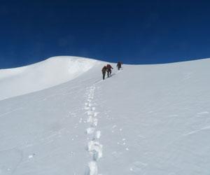 Summit slopes of Narindal