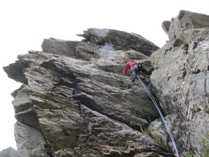 Subservient Elephant: North Wales Climbing