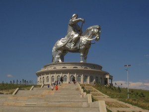 The Giant Stainless Steel Ghengis Khan