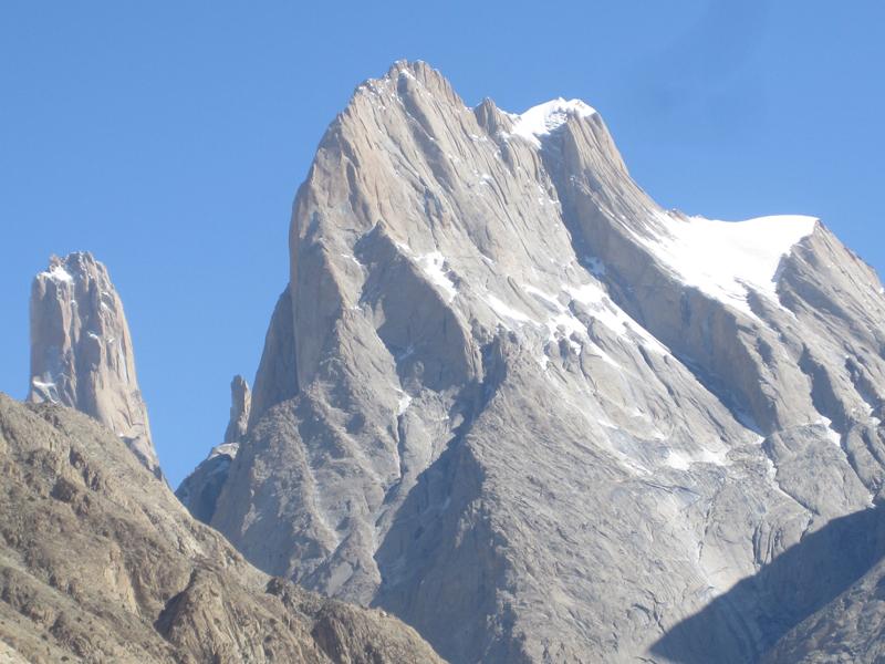 Trango towers in the Karakorum. Photo by Tom Richardson