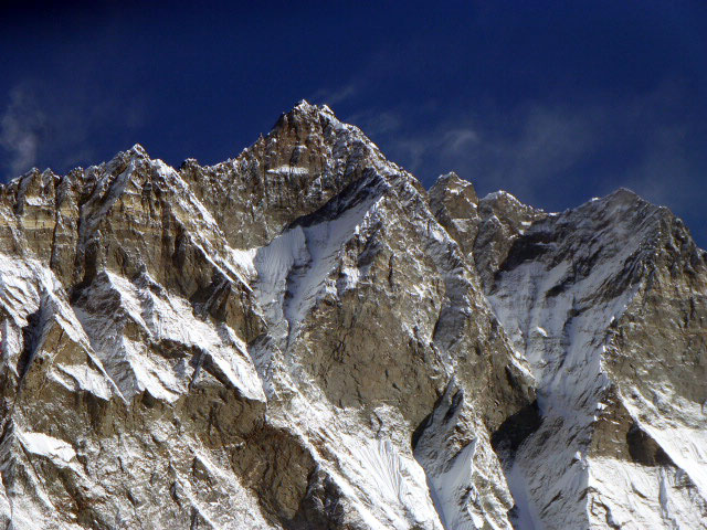The south face of Lhotse