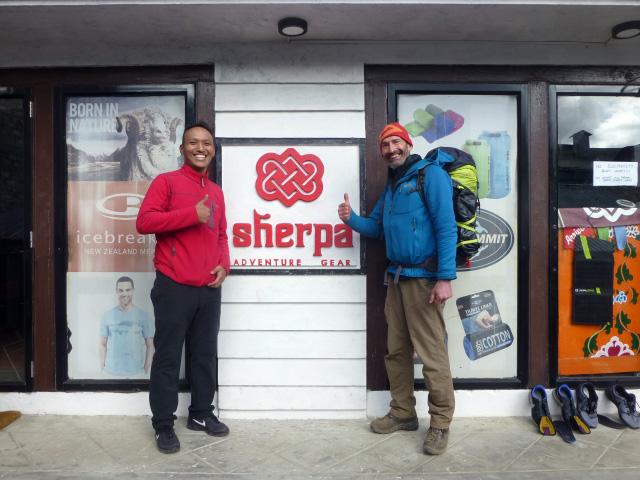The Sherpa store Nepal