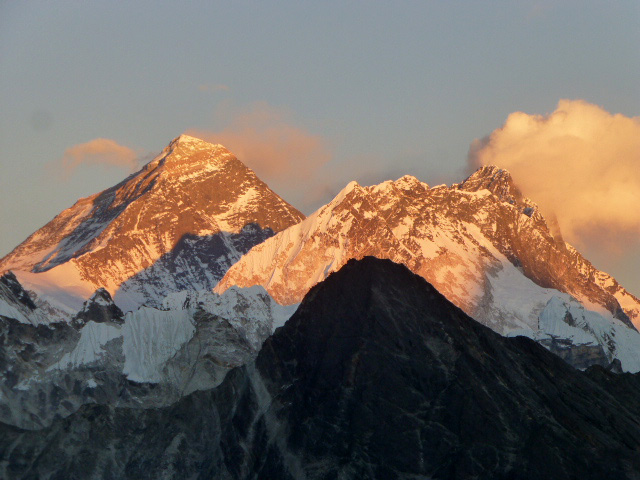 Sunset on Everest