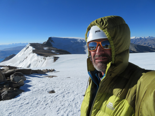 On the way to the summit of Mentok Kangri 2.