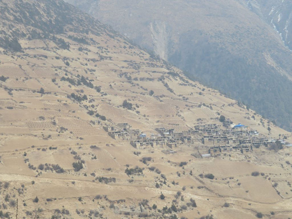 Tibetan style villages of Upper Pisang