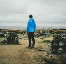 Aircraft wrecks on Kinder and Bleaklow