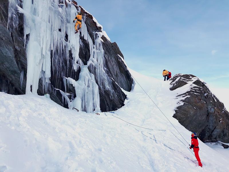 The North Face Gear Test - Ice Climbing - Zermatt
