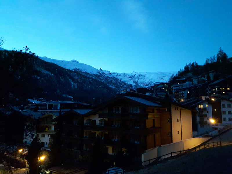 The North Face Gear Test - Zermatt by night