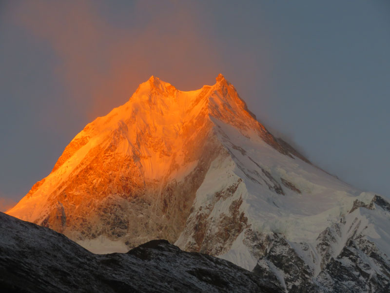 Dawn Light from Manaslu - Outside Staff Blog
