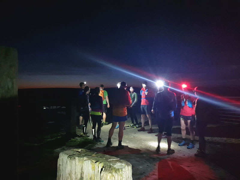 Regrouping on the top of Bradwell Moor - The Hope Valley Skyline Outside Staff Blog