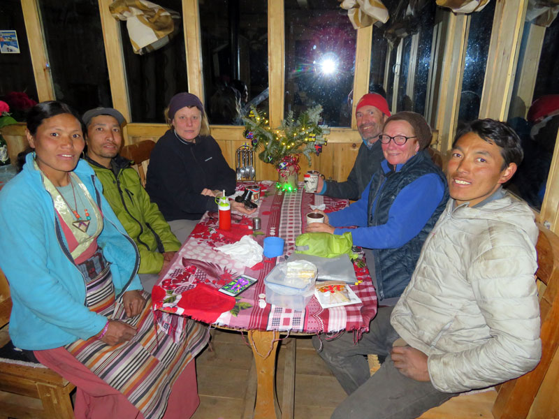 Christmas Party - Winter Trekking Manaslu - Outside Staff Blog