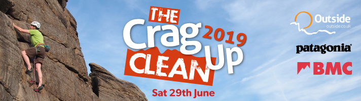 Outside Crag Clean Up 2019