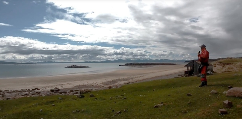Outside Staff Blog - Paddling in Scotland and Essex - Picnic site at Red Point Sands