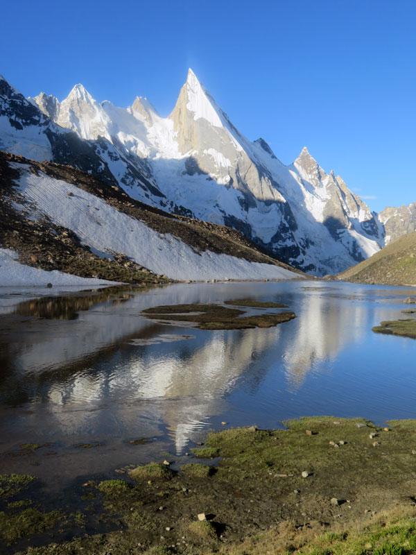 Outside Staff Blog | Karakoram Expedition | Peaks Passes and Glacier Glasses - View from Huisprung - Leila Peak