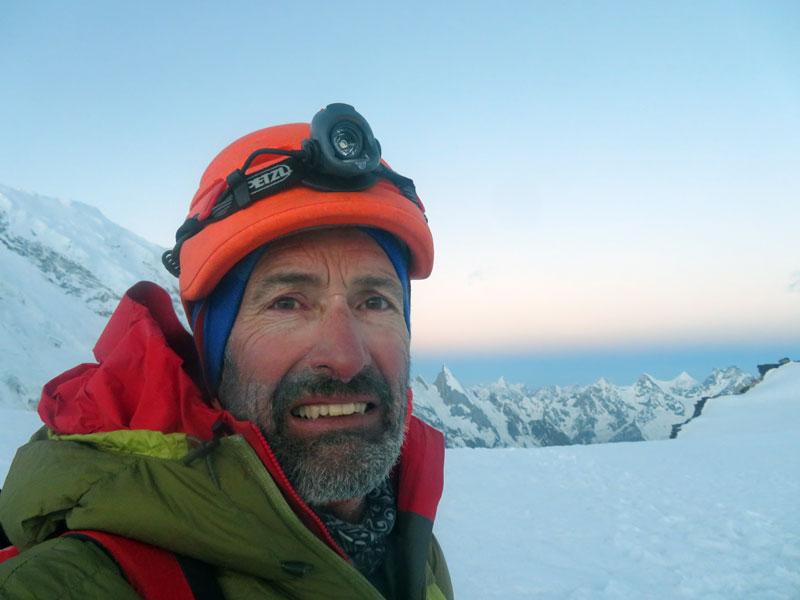 Outside Staff Blog | Karakoram Expedition | Peaks Passes and Glacier Glasses - Top of Gondogoro La - Leila Peak behind