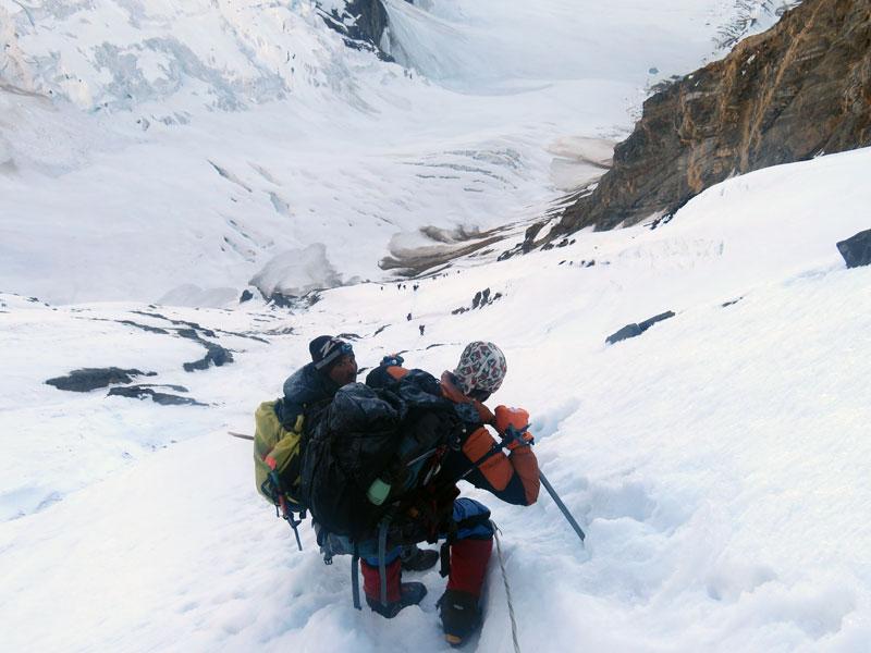 Outside Staff Blog | Karakoram Expedition | Peaks Passes and Glacier Glasses - descending into hushe valley