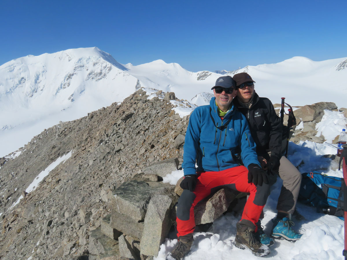 On top of Malchin   Tom Richardson - Mongolia Expeditions   Outside Staff Blog