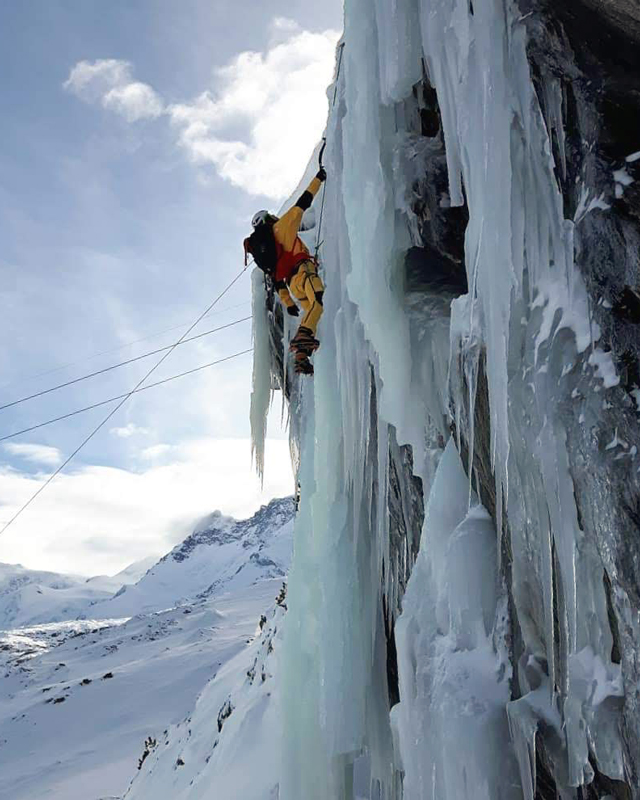 The North Face - Futurelight Gear Test | Ice climbing in Zermatt | Outside Staff Blog