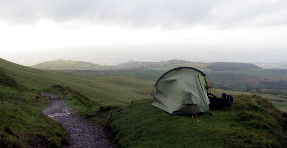 Outside Staff Blog | Walking Offa's Dyke in seven days | Wind & rain on the Black Mountains