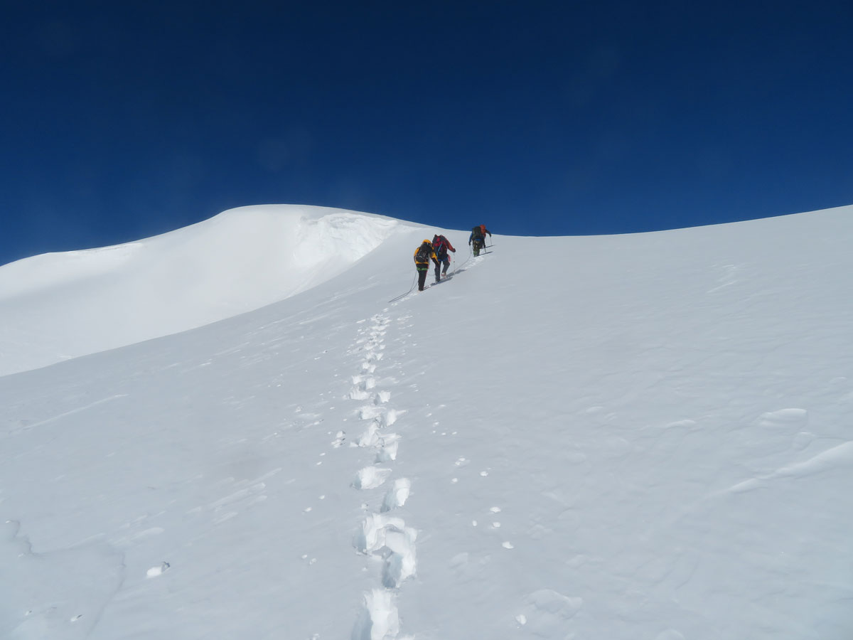 The summit slopes of Narindal | Tom Richardson - Mongolia Expeditions | Outside Staff Blog