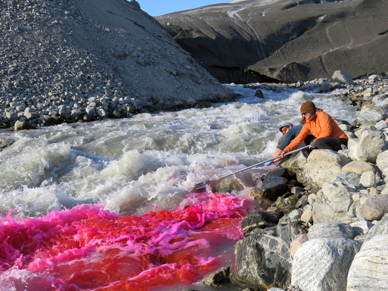 Greenland Expedition - River Dye Photo: Becky Hopkins