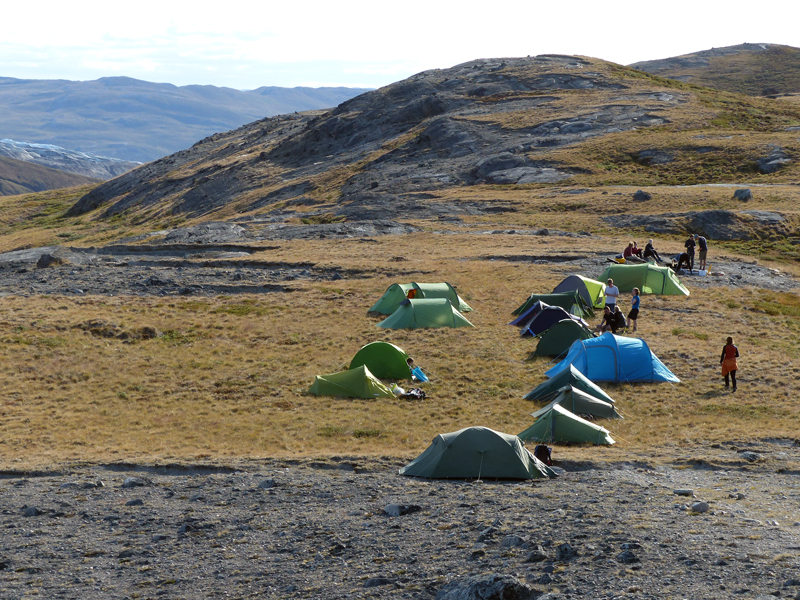 Greenland Expedition - View from Bear Watch Hill Photo: Stephen Livingstone