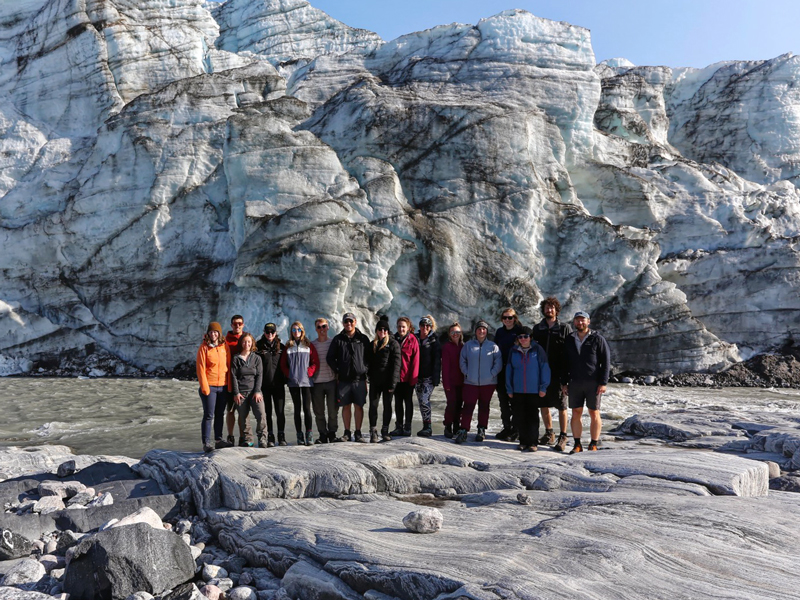Greenland Expedition - Russell Glacier Ice Cliffs. Photo Andrew Sole