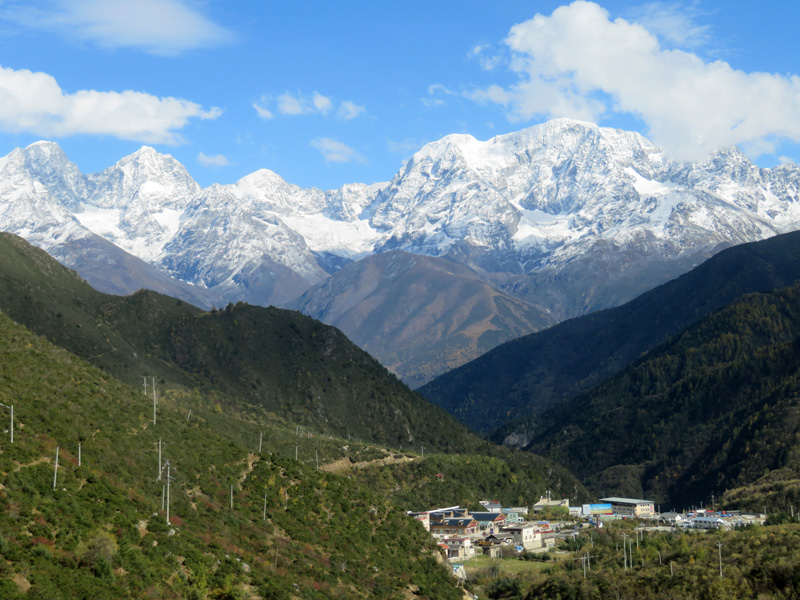 Outside Staff Blog Tom Richardson trekking in Sichuan China - Kangding