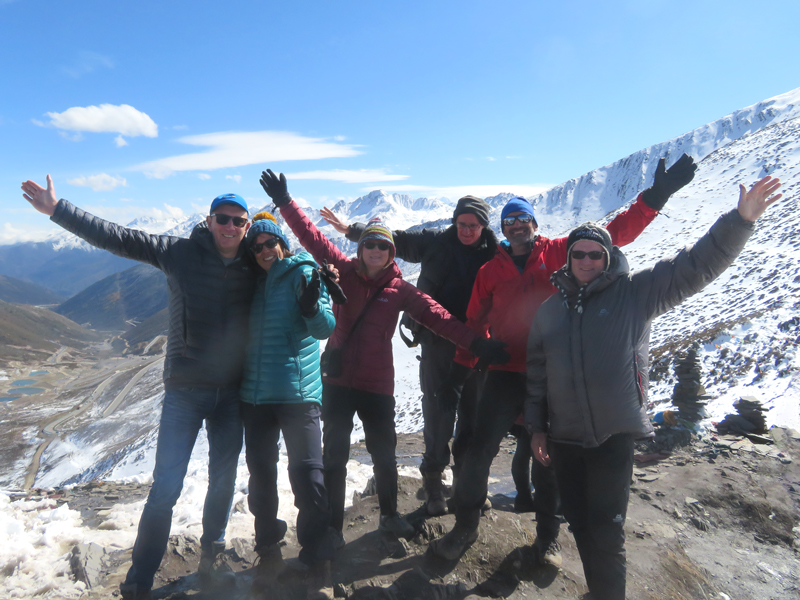 Outside Staff Blog Tom Richardson trekking in Sichuan China - Minya Konka