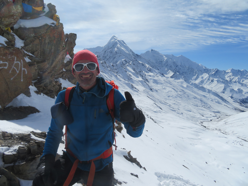 Outside Staff Blog Tom Richardson trekking in Sichuan China - Selfie