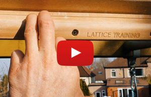 Lattice Training Rung - Stay inside with Outside #1