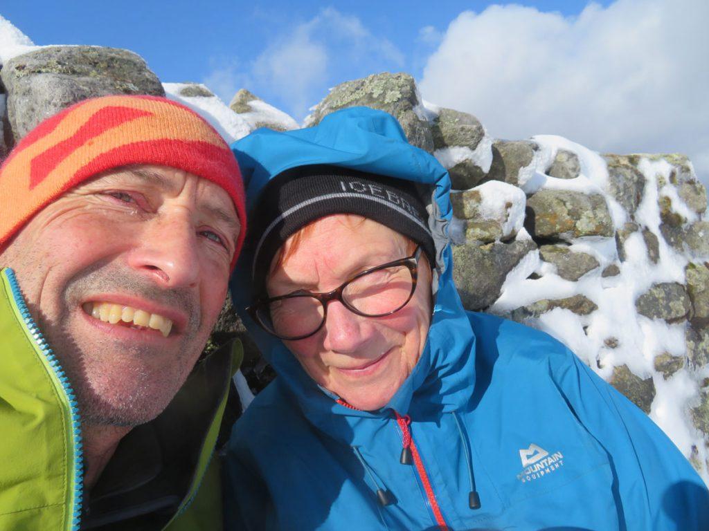 Pennine Way Lockdown - Summit of Great Shunner Fell