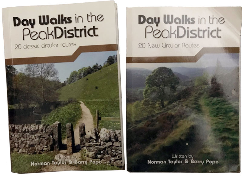 Outside Blog Day Walks in the Peak District Guidebooks