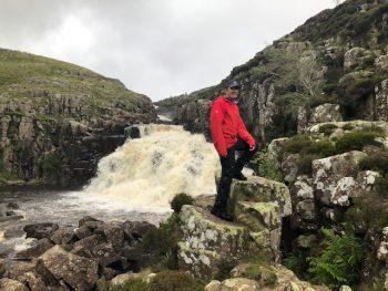 Day Hiking the Pennine Way - Cauldron Snout rapids