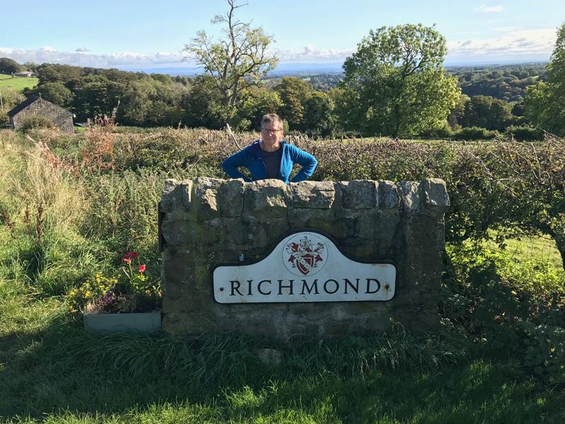 Coast to Coast walk: Richmond city limits